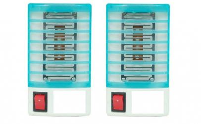 Set: 2 x lampa UV impotriva tantarilor