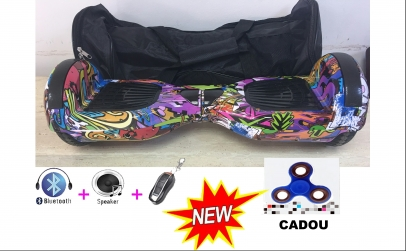 "Hoverboard NEW 6,5"" cu spinner cadou"