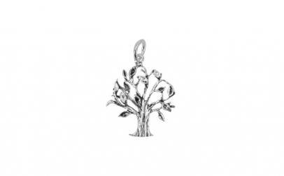 Pandantiv Argint 925 Copac + Snur
