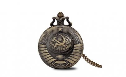 Ceas de buzunar, Russia Soviet style,