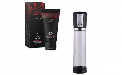 Titan + Pompa electrica