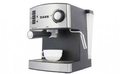 Espressor manual Zass ZEM 04, 850W, 15