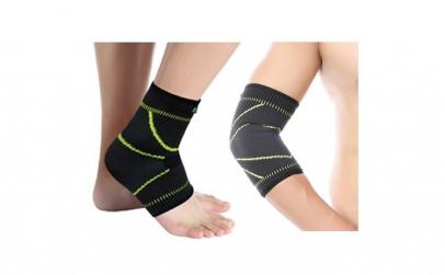Cotiera elastica + Suport elastic glezna