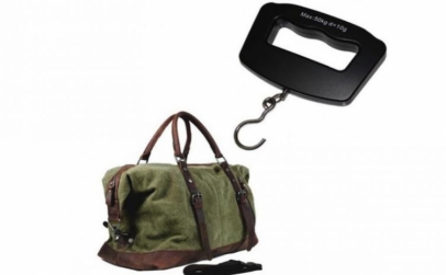Cantar portabil pentru bagaje