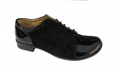 Pantofi dama din piele naturala intoarsa