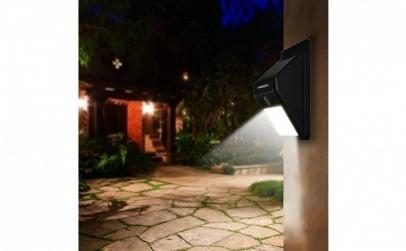 Bec LED solar cu senzor de miscare