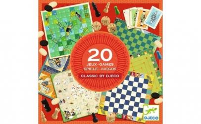 Colectia Djeco   20 jocuri clasice