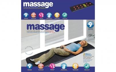 Saltea pentru masaj cu incalzire