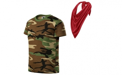 Tricou bumbac pentru copii + esarfa