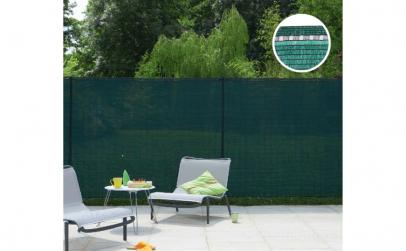 Plasa verde pentru gard 2,00 m X 10 m