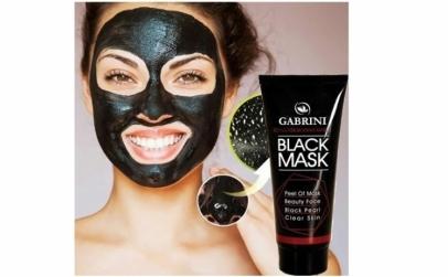 Masca neagra de fata pentru puncte negre