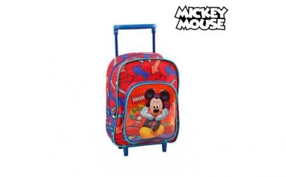 Geanta Mickey Mouse cu roti
