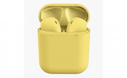 Casti Wireless Stereo inPods12 Galben