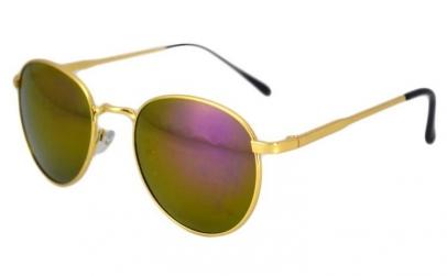 Ochelari de soare Rotunzi - Mov/Gold