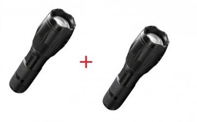 2 x Lanterna cu zoom - rezistenta la apa