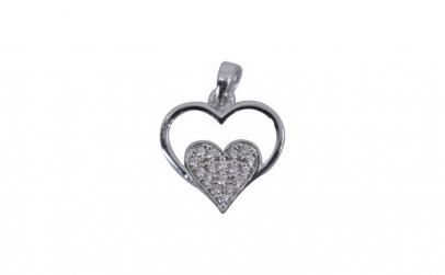 Pandantiv Argint 925 Inima in Inima +