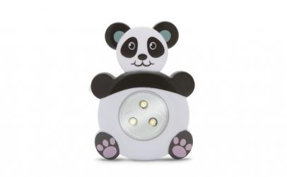 """Lampă de veghe cu buton, model """"Panda"""""""