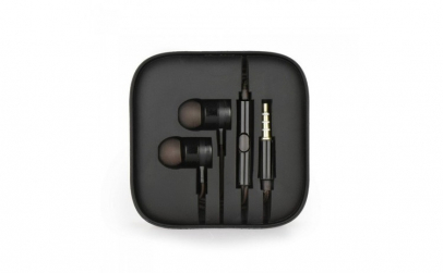 Casti Audio IN-EAR Metal, cu Microfon,