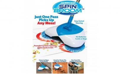 Matura rotativa Spin cu 3 perii