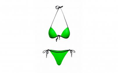 Costum baie Mistery Verde