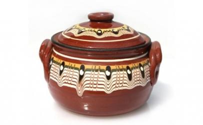 Oala ceramica lut 550 ml 016337