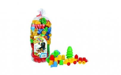 Cuburi constructii medii 110 piese