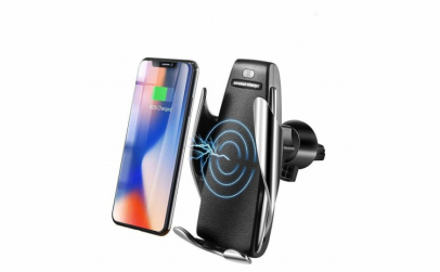 Incarcator auto smart wireless cu senzor