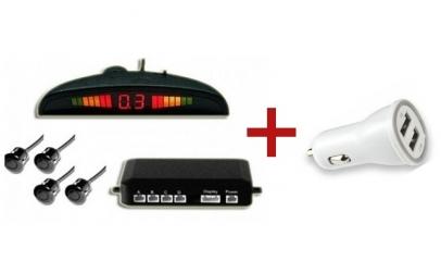 Senzori parcare + Incarcator USB cadou