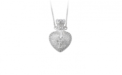 Colier Luxury Heart Angel