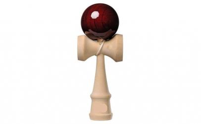 Kendama Ball Originala Visiniu Lucios