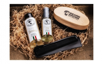 Set ingrjire barba 4 produse, made Italy