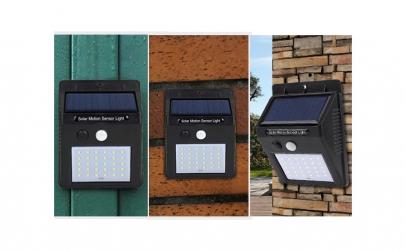 Set de 3 lampi solare
