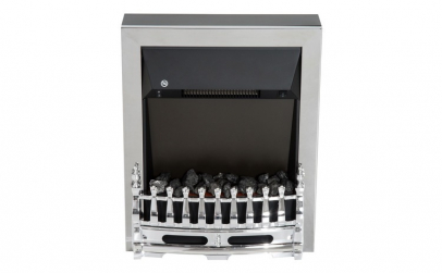 Semineu electric 1000/2000 W Argintiu
