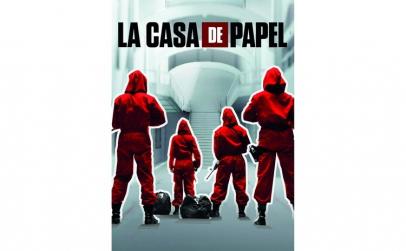 PUZZLE LA CASA DE PAPEL 1000 DE PIESE