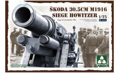 Macheta Takom, Skoda 30.5 cm M1916 Siege
