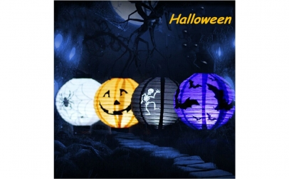 Lampion decorativ cu led Halloween