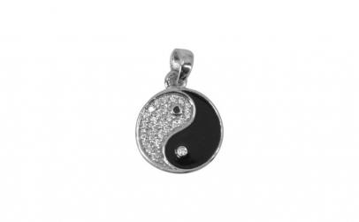 Pandantiv Argint 925 Ying&Yang cu