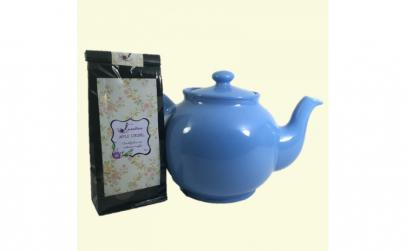 Set Ceai Apple Strudel  50 g   Ceainic