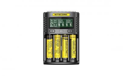 Nitecore UMS4, incarcator USB, Mod Q