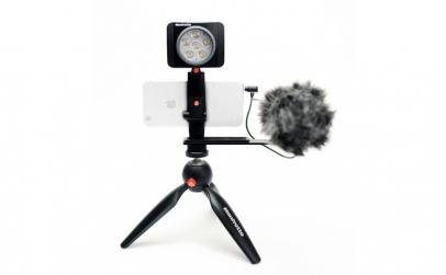 Manfrotto Kit pentru Vlogger cu