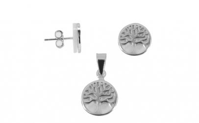 Set Argint 925 Copac cu Sidef