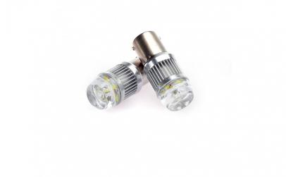Set becuri LED BA15D, 4014, CAN-BUS