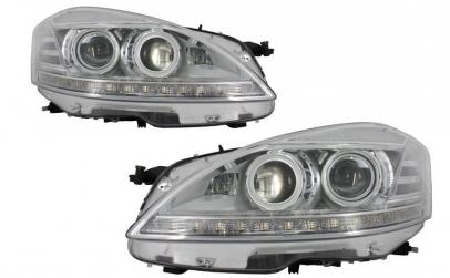 Set 2 faruri LED compatibil cu Mercedes