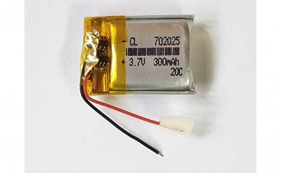 702025- Acumulator Li-Po - 3,7 V - 300ma