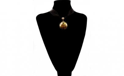 Colier cu foita de aur Princess Diana