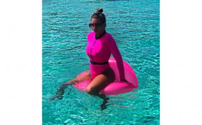 Costum de baie, roz