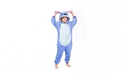 Pijama iarna Onesie Blue Stitch