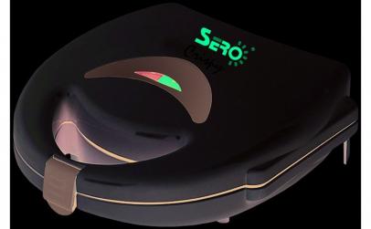Sandwich-maker Sero SSM01, 750W, Alb