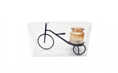 Suport lumanari  in forma de tricicleta
