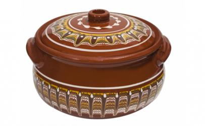 Oala ceramica lut 7.5l Troeanska Sarka